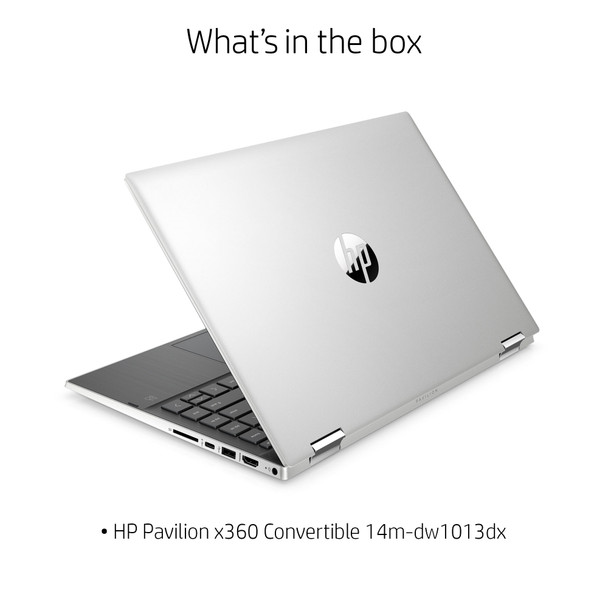 "HP Pavilion X360 14-dw1013dx - 14"" Touch, Intel i3, 8GB RAM, 128GB SSD, Windows 10"