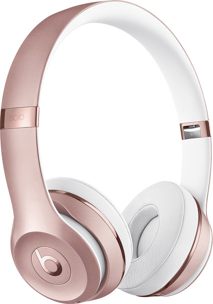 Beats Solo3 Wireless Headphones by Dr. Dre, Rose Gold - MNET2LL/A