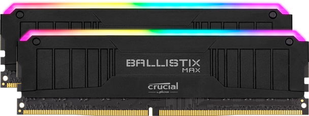 Crucial Ballistix MAX RGB 32GB (2 x 16GB) DDR4 SDRAM (Kit of 2) Memory Modules - BLM2K16G40C18U4BL