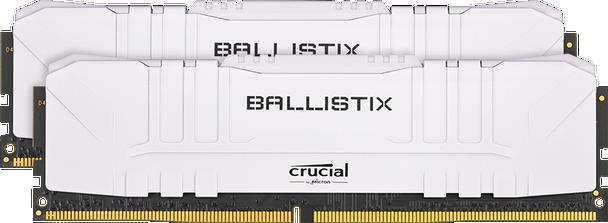 Crucial Ballistix - 2x 8GB (16GB Kit) DDR4 3600 Memory Modules - BL2K8G36C16U4W