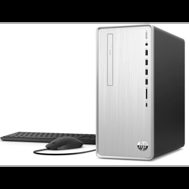 HP Pavilion Desktop TP01-0109 - AMD Ryzen 3, 8GB RAM, 256GB SSD + 1TB HDD
