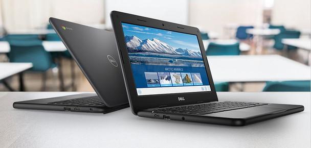 "Dell 11 3100 Chromebook - 11.6"" Display, Intel N4020, 4GB RAM, 16GB SSD - 0JWC5"