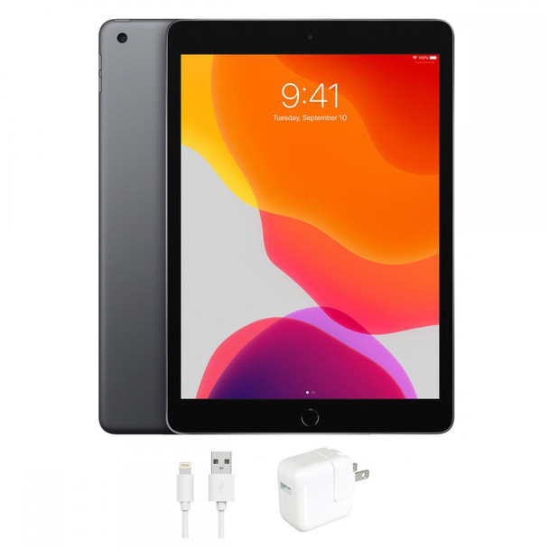 "Apple iPad 7 - 10.2"" Tablet, 32GB, Space Gray - MW742LL/A"