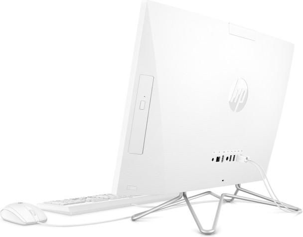 """HP All-in-One 24-dd1006 - 23.8"""" Display, Intel i3, 8GB RAM, 256GB SSD, Windows 10, White"""