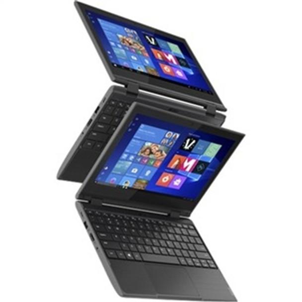 "Lenovo 300e G2 - 11.6"" Touchscreen, Intel Celeron, 4GB RAM, 64GB eMMC, Windows 10 Pro - 81M900CAUS"
