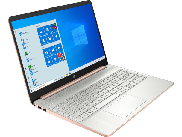 """HP Laptop 15-ef1003ds - 15.6"""" Touchscreen, 8GB RAM, 256GB SSD, Pale Gold"""