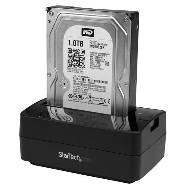 "Hard Drive Docking Station for 2.5 / 3.5"" SATA Drives - USB 3.1 (USB-A, USB-C) or eSATA"