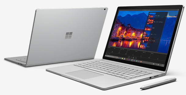 "Microsoft Surface Book Detachable - Intel Core i5 – 2.40GHz, 8GB RAM, 256GB SSD, 13.5"" Touch with Pen, Windows 10 Pro"