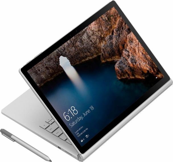 "Microsoft Surface Book Detachable - Intel Core i7 – 2.60GHz, 8GB RAM, 256GB SSD, 13.5"" Touchscreen with Pen, Windows 10 Pro"
