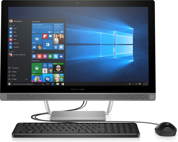 """HP Pavilion 27-A237C – 27"""" Touch, Intel Core i7 – 2.90GHz, 16GB RAM, 1TB HDD"""