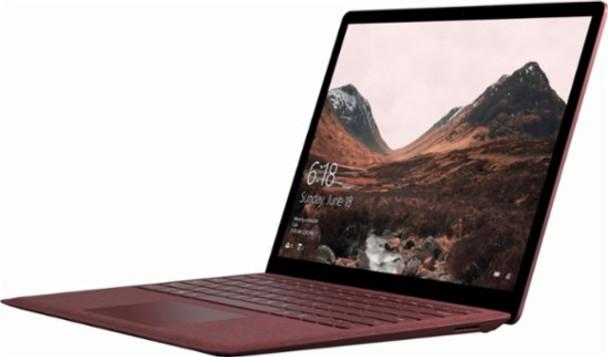 "Microsoft Surface Laptop   Intel Core i7 – 2.50GHz, 16GB RAM, 512GB SSD, 13.5"" Touchscreen, Windows 10S, Burgundy"