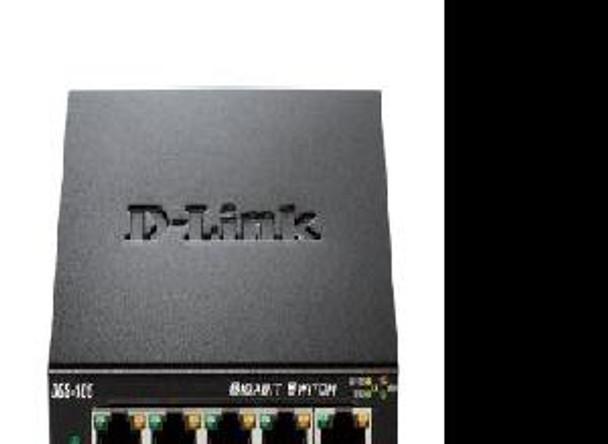 D-link Systems 5-port Gigabit Ethe Desktop Switch, Unmanaged, Metal Chassis, Qos, D-link Gr