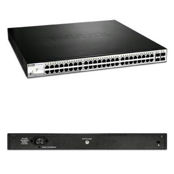 D-link Systems Websmart Gigabit Switch. 52-port  Poe Switch Including 4  Sfp Ports. Limited Lif