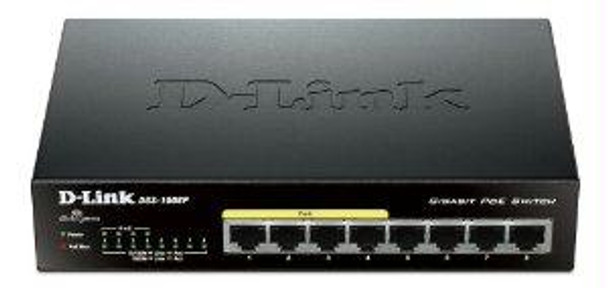 D-link Systems 8-port Gigabit Unmanaged DGS-1008P