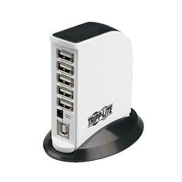 Tripp Lite 7-port Usb 2.0 U / Usb 1.1 Compact Mobile Hi-speed Hub Tower