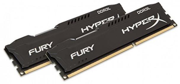 Kingston HyperX Fury 16GB (2x 8GB), DDR3L 1866 MHz Memory Modules