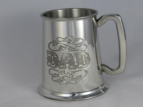 Crafted Cup's 'DAD' tankard: Front profile