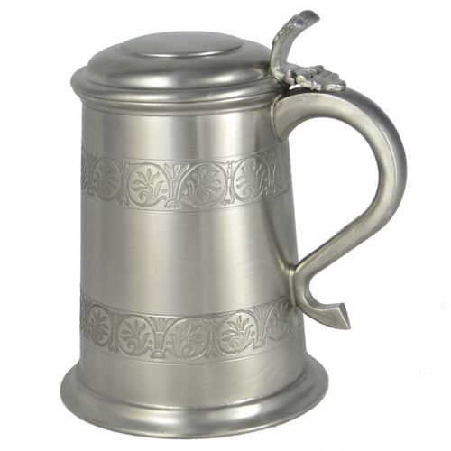 Crafted Cup's Medieval antique finish tankard
