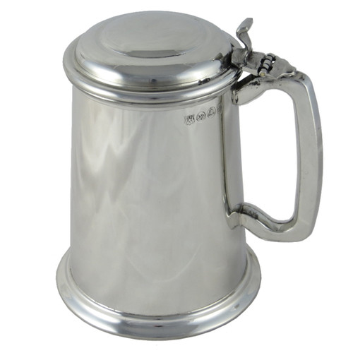Crafted cup's 1 pint lidded  tankard