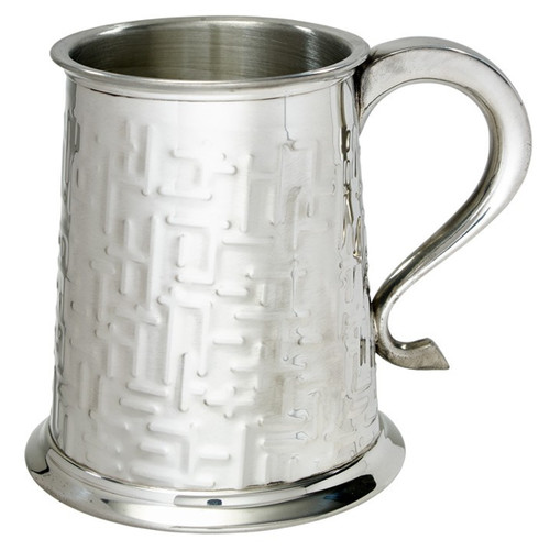 Crafted Cup's Labyrinth pewter tankard thumbnail