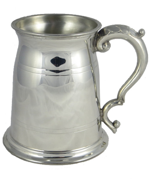Old London one pint pewter tankard thumbnail