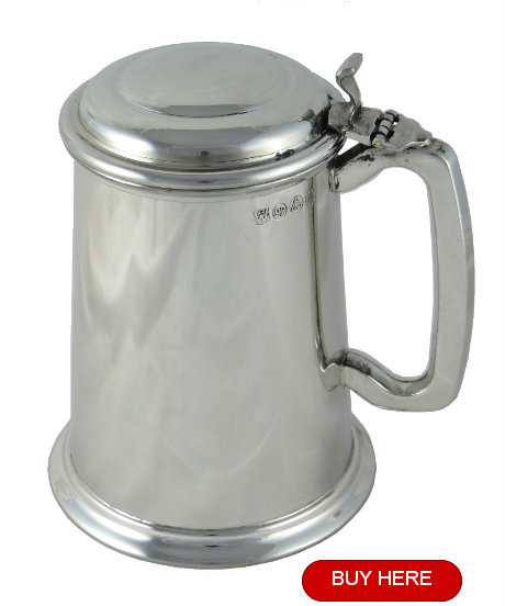 Pewter tankard for sale