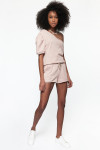 Cami NYC Lynley Short Front Sand