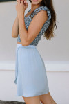 Nation Cassidy Mini Skirt Side