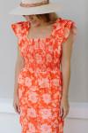 Saylor Linley Maxi Dress Front Detail
