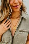 Dannijo khaosan necklace Front view