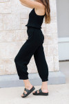 Stateside Luxe Jumpsuit Side View