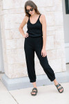 Stateside Luxe Jumpsuit Front View