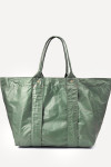 Clare V. Giant Trop Bag Green Front View