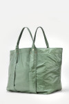 Clare V. Giant Trop Bag Green Side View