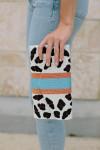 Tiana Designs Leopard Envelope Clutch Side View