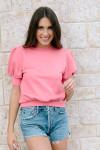 Agolde Parker shorts Front Model View