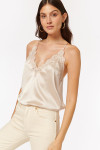Cami NYC Everly Silk Cami Oat Front