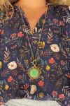 Ayana Designs Gwen Sunburst Necklace