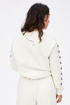 Clare V. Graphic Sweatshirt Back View