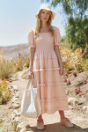 The Great Scallop Savana Dress