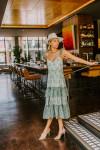 Cami NYC Angela Midi Dress Front View