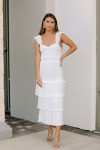 Saylor Perrie Maxi Dress FrontView