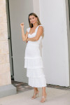 Saylor Perrie Maxi Dress Front Side View