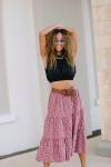 Xirena Iris Tiered Skirt Front View