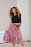 Xirena Iris Tiered Skirt Model View