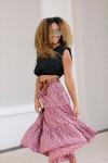 Xirena Iris Tiered Skirt Side View