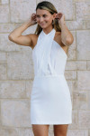 Amanda Uprichard Mezcal Mini Dress Front View