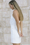 Amanda Uprichard Mezcal Mini Dress Side View