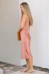 Cami NYC Marty Silk Midi Dress Side View
