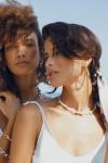 Dannijo Biscayne Hoop Earrings Model View